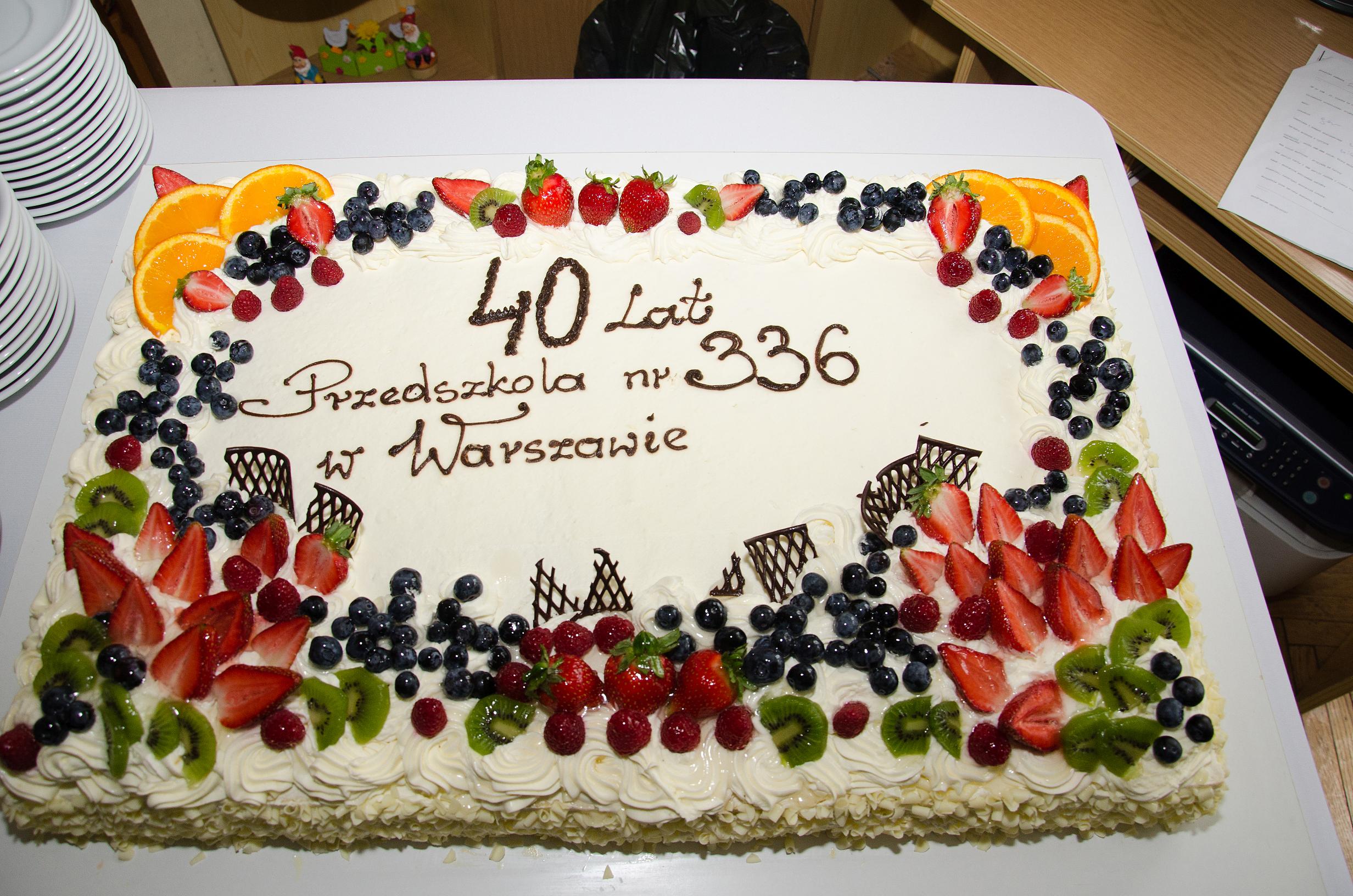 40-lecie naszego przedszkola